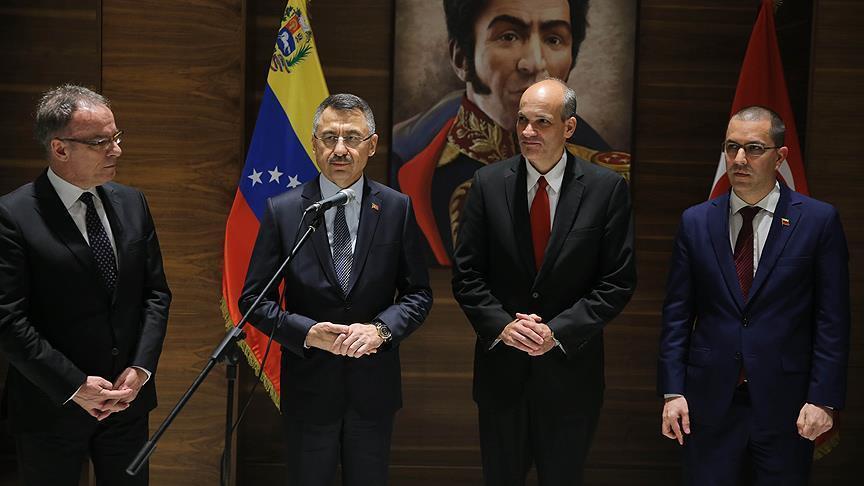 نائب أردوغان: زيارتي الحالية لفنزويلا فرصة لتقييم العلاقات الثنائية