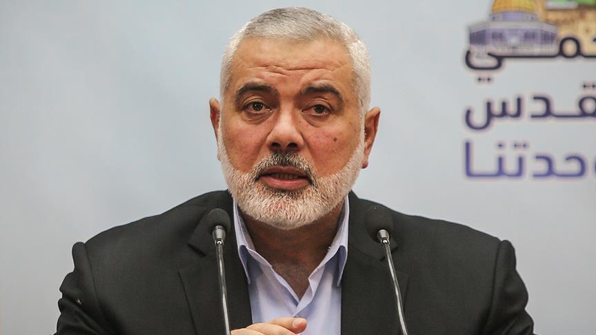 هنية: الفلسطينيون مصممون على العودة لديارهم