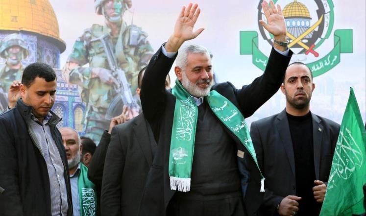هنية رئيسًا للمكتب السياسي لحركة حماس خلفًا لمشعل
