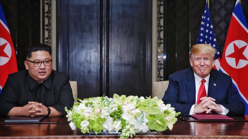 وثيقة ترامب وكيم تلزم بيونغ يانغ بإخلاء شبه الجزيرة الكورية من