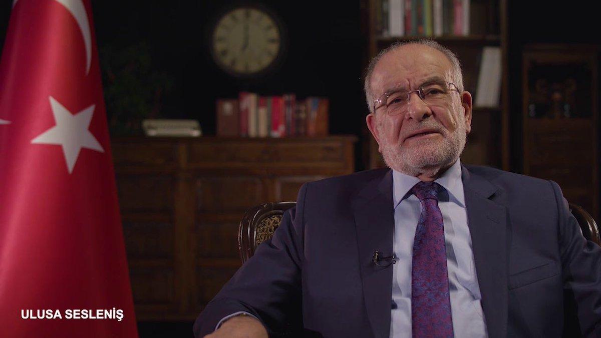 وجه تَمَل قره ملا أوغلو كلمة للأمة التركية