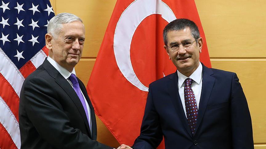 وزير الدفاع الأمريكي يكشف عن لقاء مرتقب مع نظيره التركي