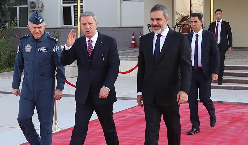 وزير الدفاع التركي يلتقي نظيره الروسي في موسكو