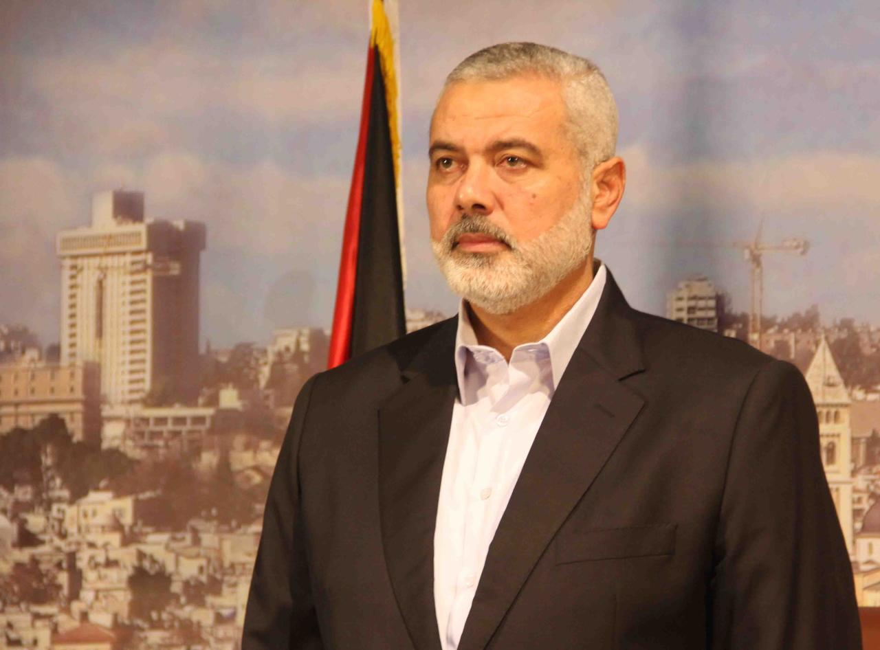 وفد حماس يجري