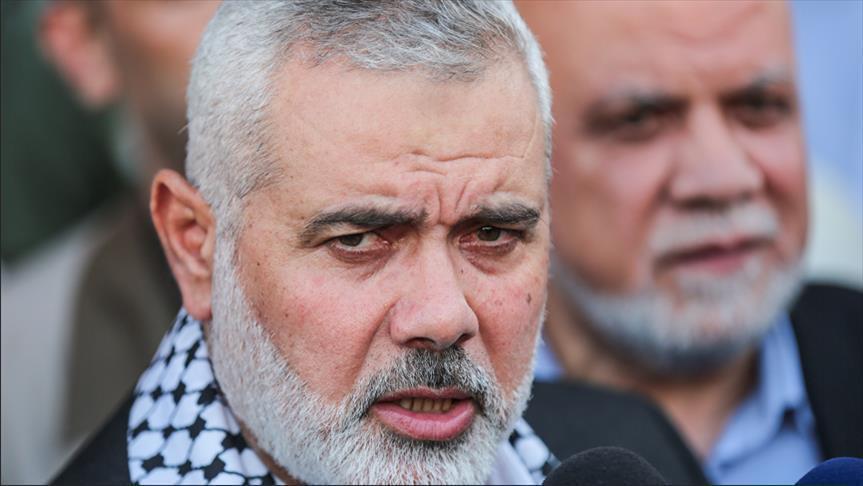 """وفد من """"حماس"""" برئاسة """"هنية"""" يغادر غزة متوجهًا إلى القاهرة"""