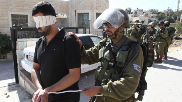 وقفة قرب رام الله تضامنا مع المعتقلين الفلسطينيين