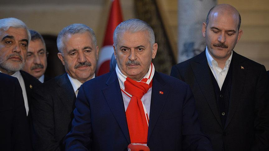 يلدريم: استشهاد 7 مدنيين أتراك بهجمات