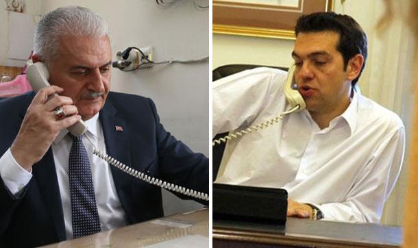يلدريم يبحث الملف القبرصي مع تسيبراس هاتفيًّا