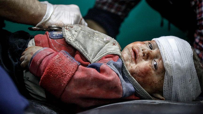 """""""يونيسيف"""": مقتل 910 أطفال في سوريا خلال 2017"""