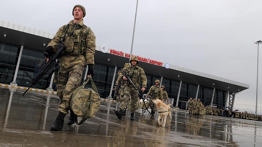 200 عنصر من القوات الخاصة التركية ينطلقون نحو عفرين