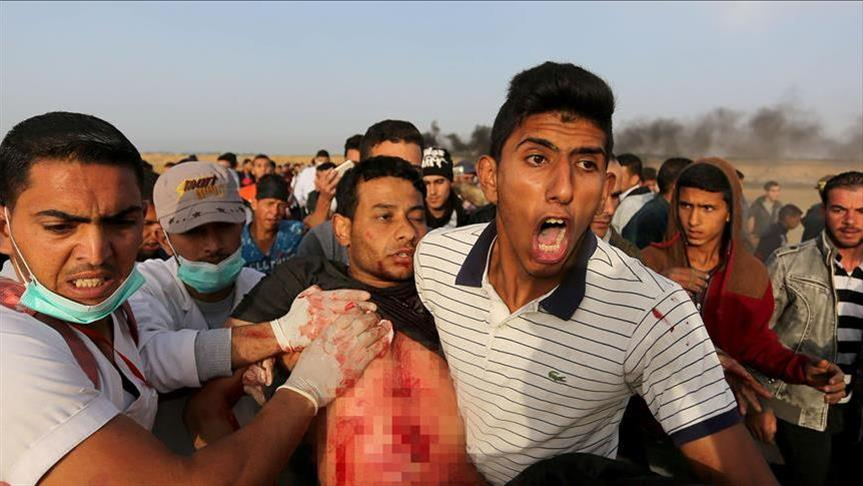 4 إصابات إحداها خطيرة في قصف إسرائيلي جنوب قطاع غزة
